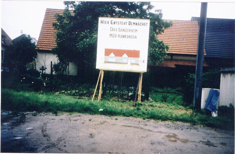 """Neubau"" Sängerheim"